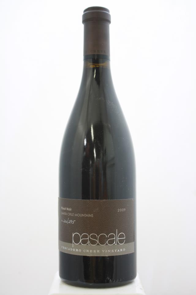 Woodside Vineyards Pinot Noir Pescadero Creek Vineyard Pascale 2009