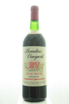 BV Cabernet Sauvignon Beau Tour 1978