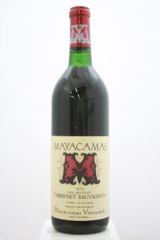 Mayacamas Cabernet Sauvignon 1974