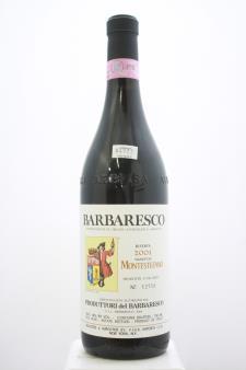 Produttori del Barbaresco Barbaresco Riserva Montestefano 2001