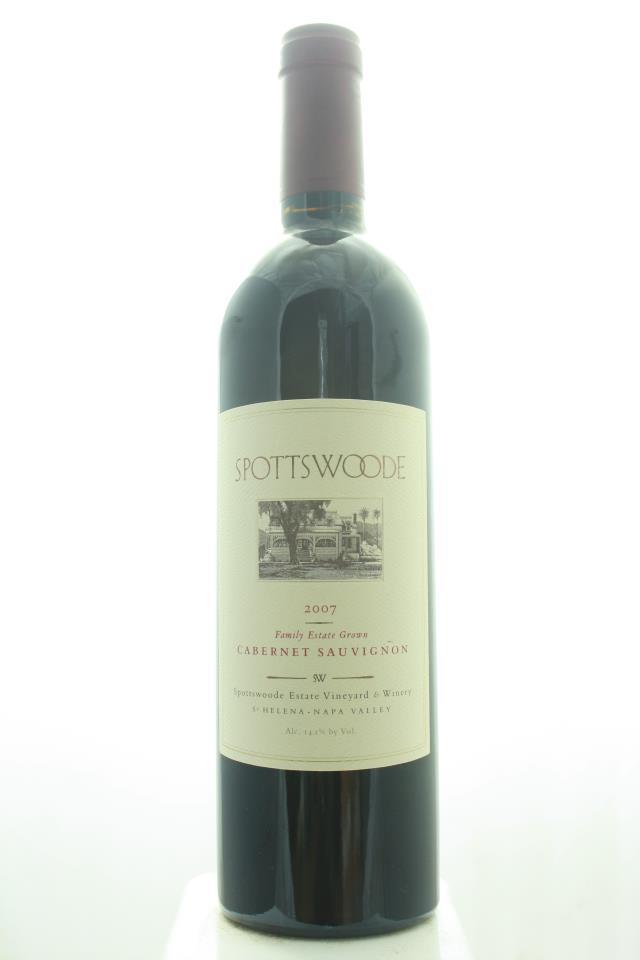 Spottswoode Cabernet Sauvignon Estate 2007