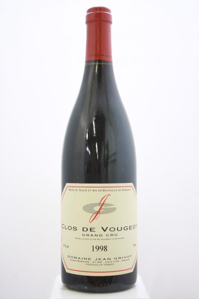 Jean Grivot Clos de Vougeot 1998