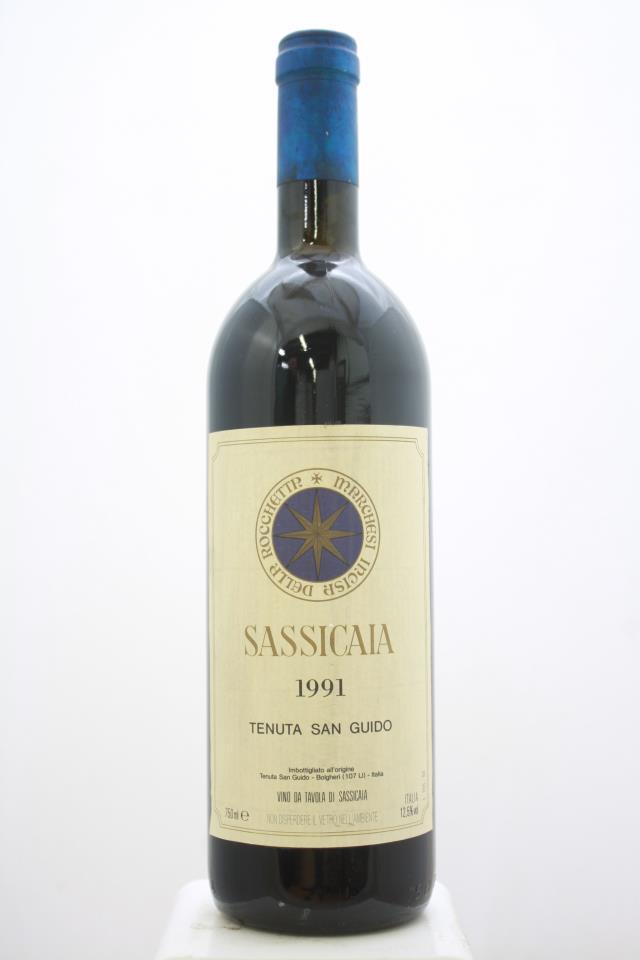 Sassicaia 1991