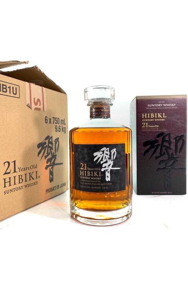 Suntory Hibiki Blended Japanese Whisky 21-Year-Old NV
