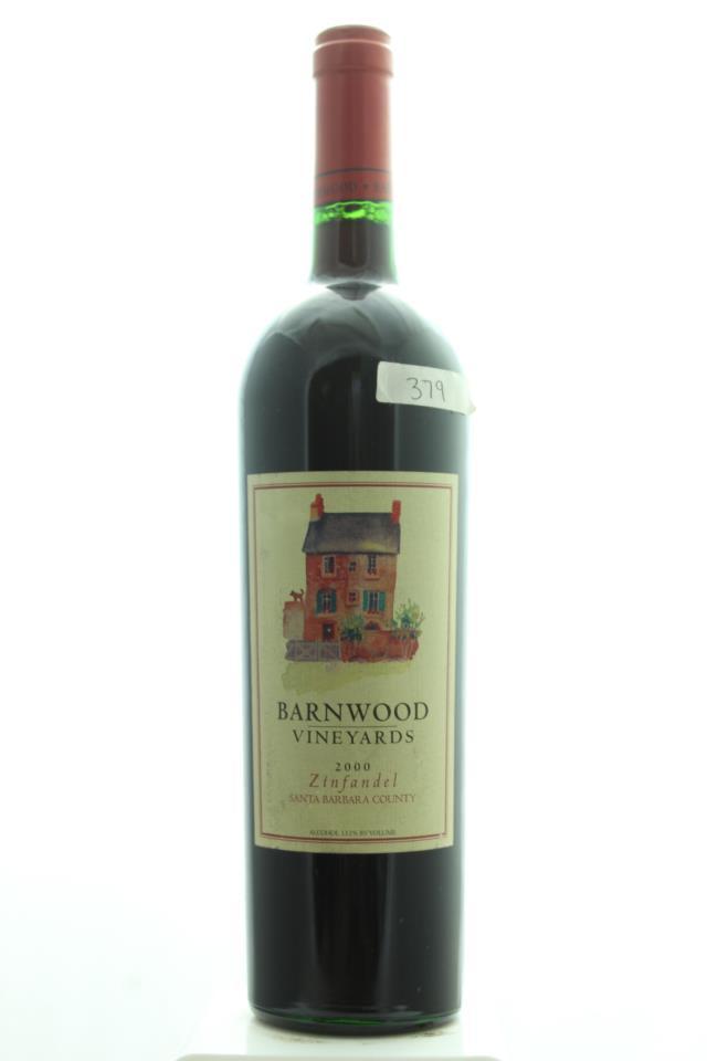 Barnwood Vineyards Zinfandel 2000
