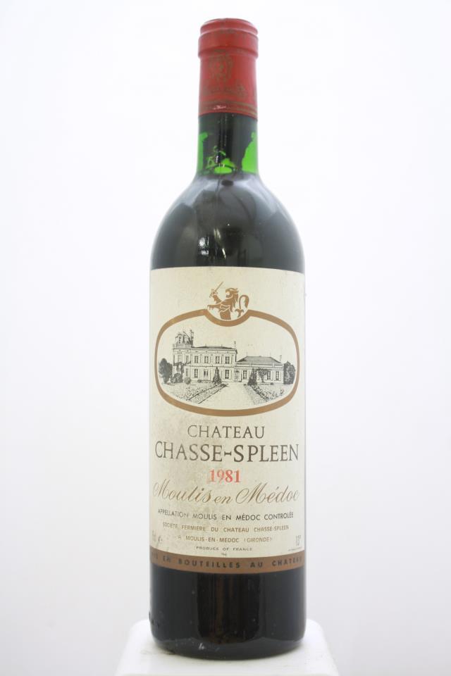 Chasse-Spleen 1981