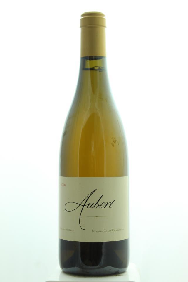 Aubert Chardonnay Ritchie Vineyard 2007