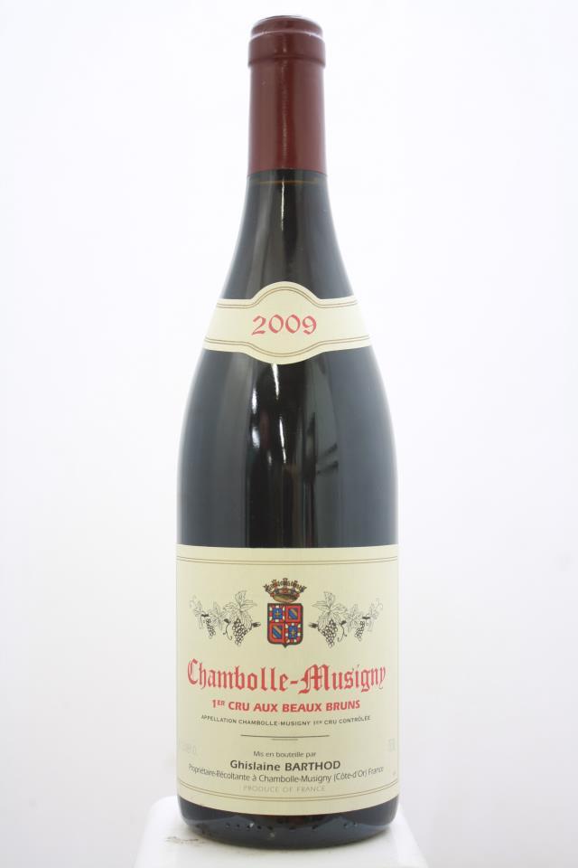 Ghislaine Barthod Chambolle-Musigny Aux Beaux Bruns 2009