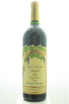 Nickel & Nickel Cabernet Sauvignon John C. Sullenger Vineyard 2007