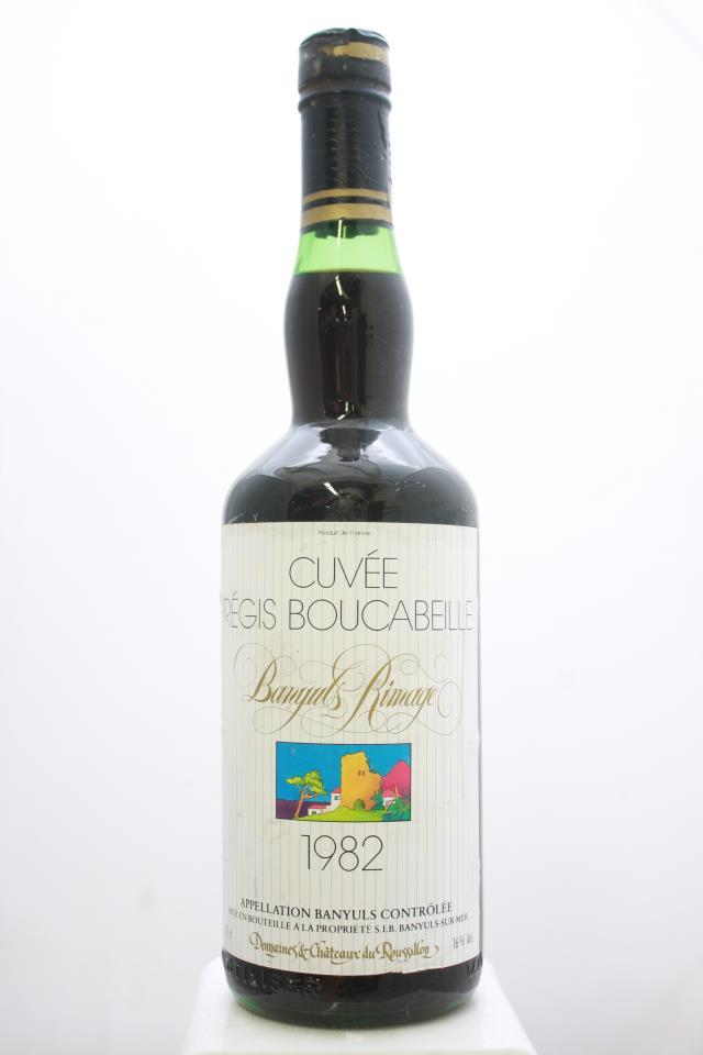 Château du Roussillon Banyuls Cuvée Régis Bouchabeille 1982
