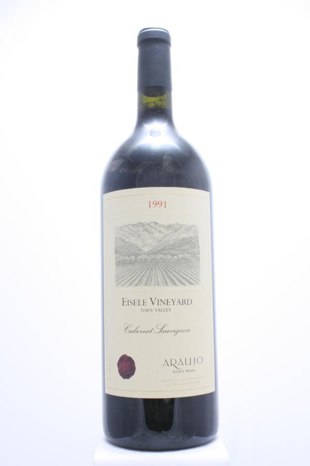 Araujo Estate Cabernet Sauvignon Eisele Vineyard 1991