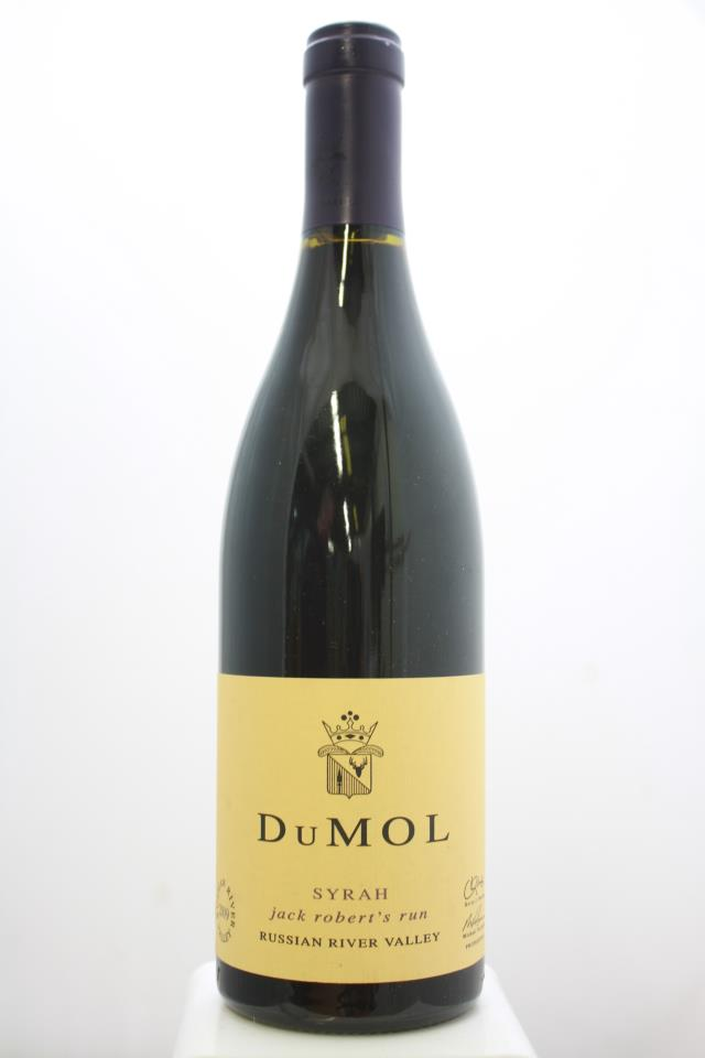 DuMol Syrah Jack Robert's Run 2009