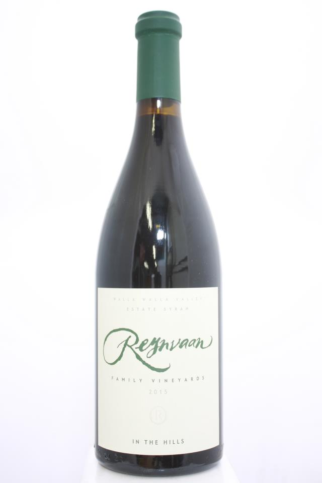 Reynvaan Family Vineyards Syrah In The Hills 2015