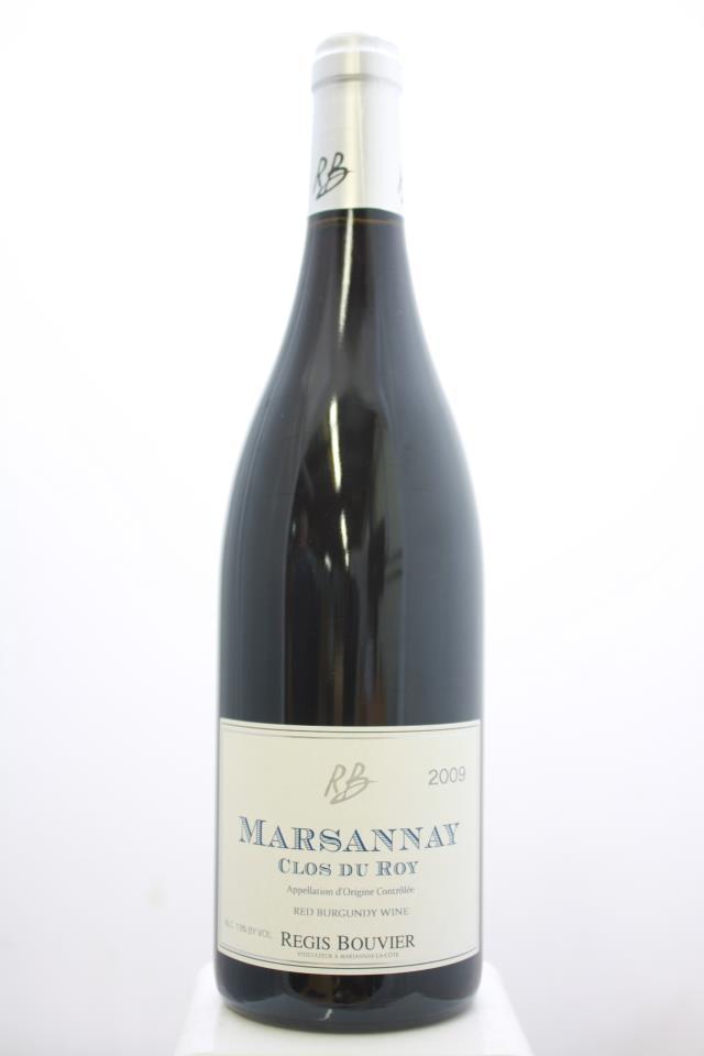 Regis Bouvier Marsannay Clos du Roy 2009
