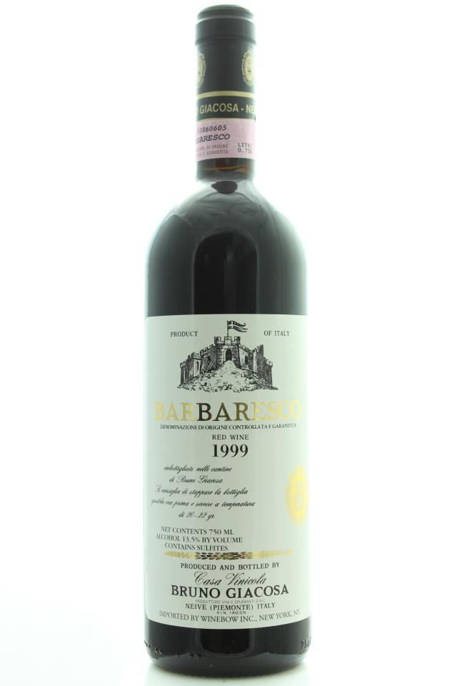 Bruno Giacosa Barbaresco 1999