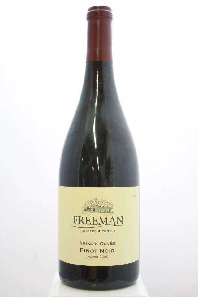 Freeman Pinot Noir Akiko's Cuvée 2017