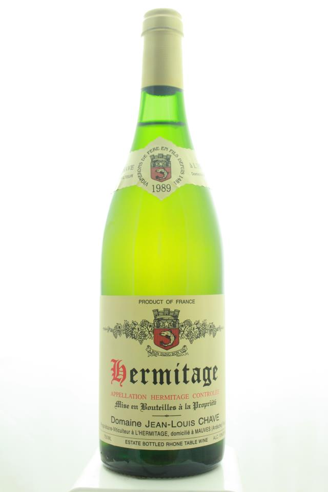 Domaine Jean-Louis Chave Hermitage Blanc 1989