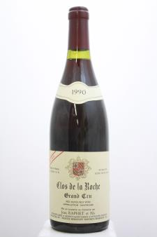 Jean Raphet Clos de la Roche Cuvée Unique Réserve 1990