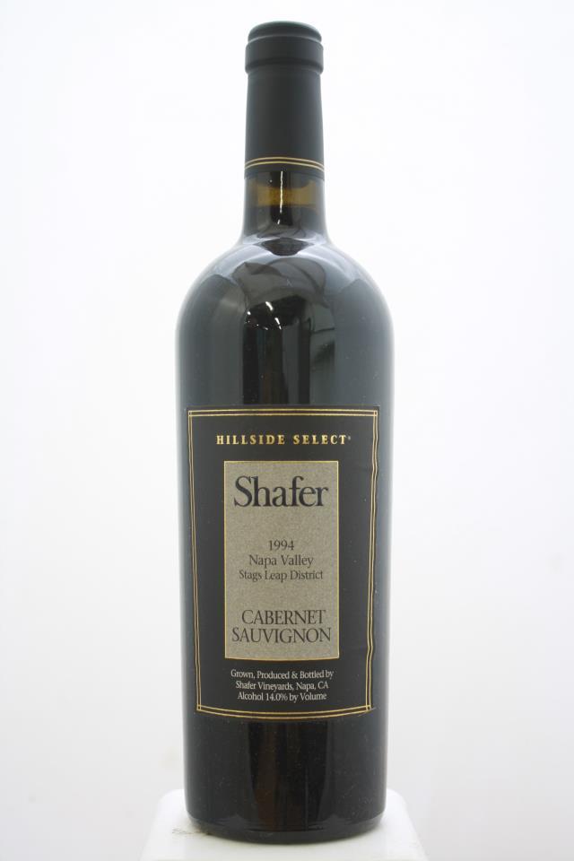 Shafer Cabernet Sauvignon Hillside Select 1994