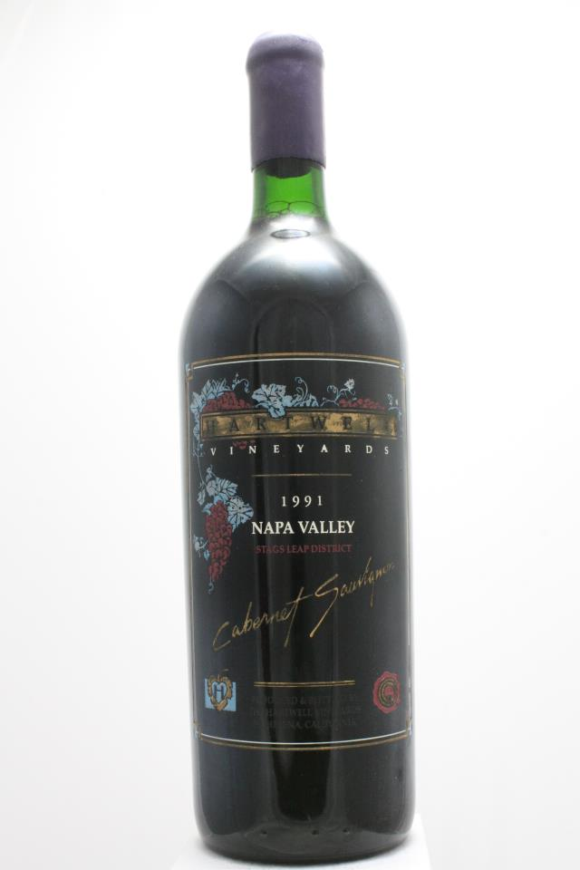Hartwell Vineyards Cabernet Sauvignon Estate 1991