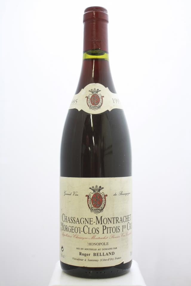 A. Belland Chassagne-Montrachet Clos Pitois Rouge 1995
