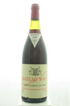 Château Rayas Châteauneuf-du-Pape Réservé 1990