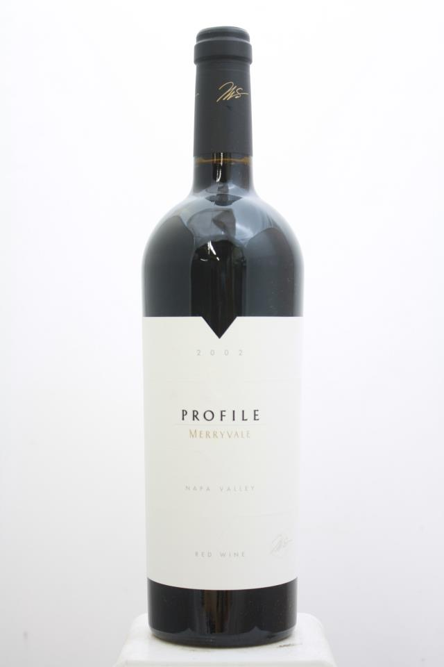 Merryvale Vineyards Proprietary Red Profile 2002