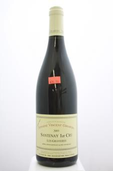 Domaine Vincent Girardin Santenay Les Gravieres Vieilles Vignes 2005