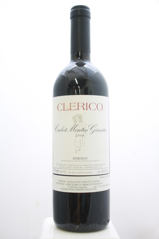 Clerico Barolo Ciabot Mentin Ginestra 2000