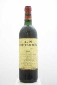 Malartic-Lagravière 1988