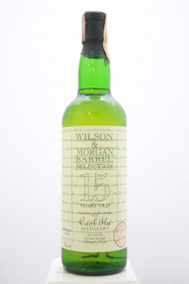 Caol Ila Islay Single Malt Scotch Whisky Wilson & Morgan Barrel Selection 15-Years-Old 1984