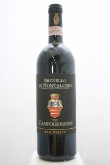 San Felice Campogiovanni Brunello di Montalcino 2003