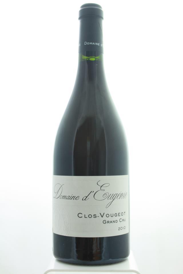 Domaine d'Eugénie Clos de Vougeot 2010
