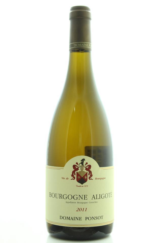 Domaine Ponsot Bourgogne Aligoté 2011