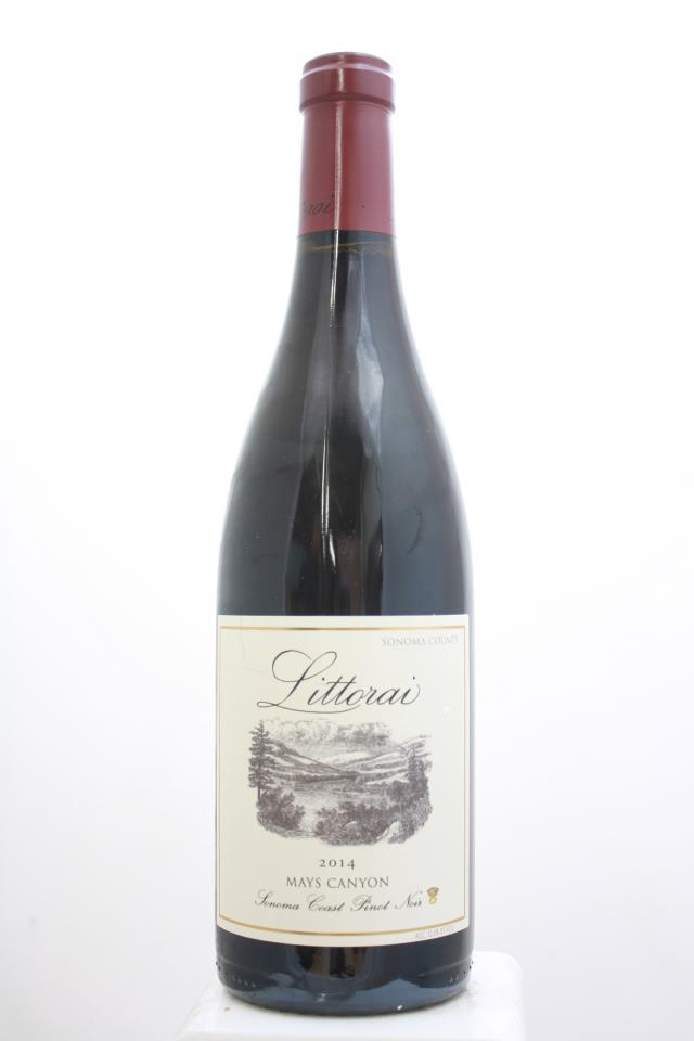Littorai Pinot Noir Mays Canyon 2014