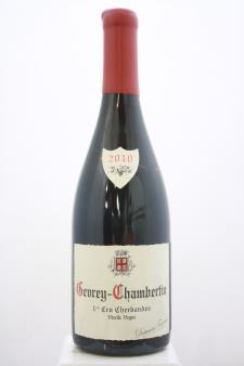 Domaine Fourrier Gevrey-Chambertin Cherbaudes Vieilles Vignes 2010