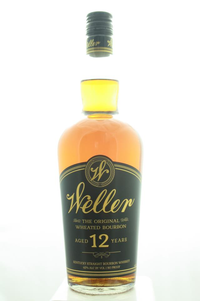 Buffalo Trace Weller Kentucky Straight Bourbon Whiskey 12-Year-Old The Original Wheated Bourbon NV