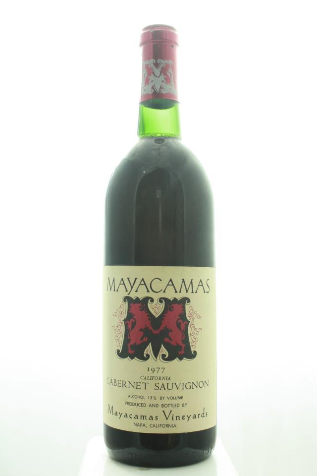 Mayacamas Cabernet Sauvignon 1977