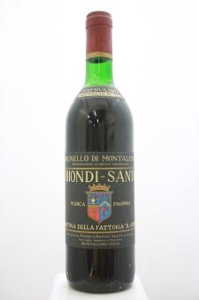 Biondi-Santi (Il Greppo) Brunello di Montalcino Riserva 1975