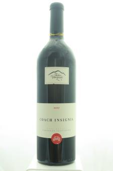 Fisher Vineyards Cabernet Sauvignon Coach Insignia 2007
