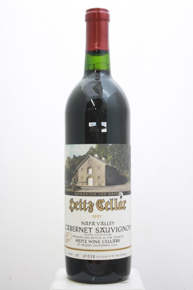 Heitz Cellar Cabernet Sauvignon Martha's Vineyard 1997