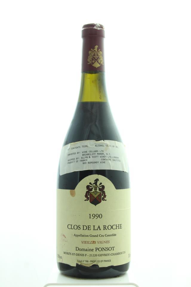 Domaine Ponsot Clos de la Roche Vieilles Vignes 1990