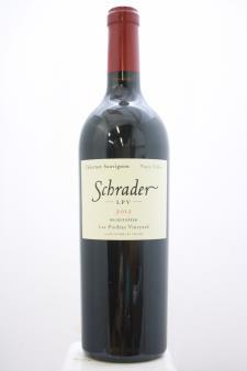 Schrader Cabernet Sauvignon Beckstoffer Las Piedras Vineyard LPV 2012