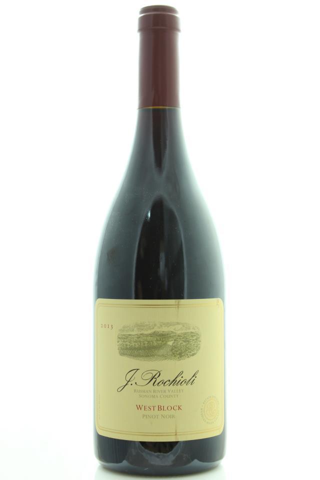 J. Rochioli Pinot Noir Estate West Block 2013