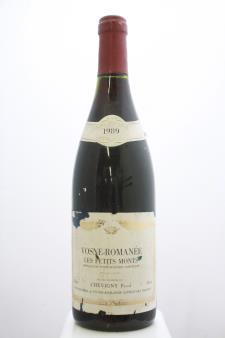 P. Chevigny Vosne-Romanée Les Petits Monts 1989
