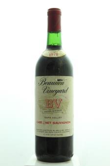 BV Cabernet Sauvignon Napa Valley 1970