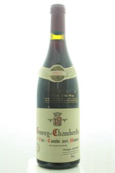 Philippe Leclerc Gevrey-Chambertin Combe Aux Moines 1983