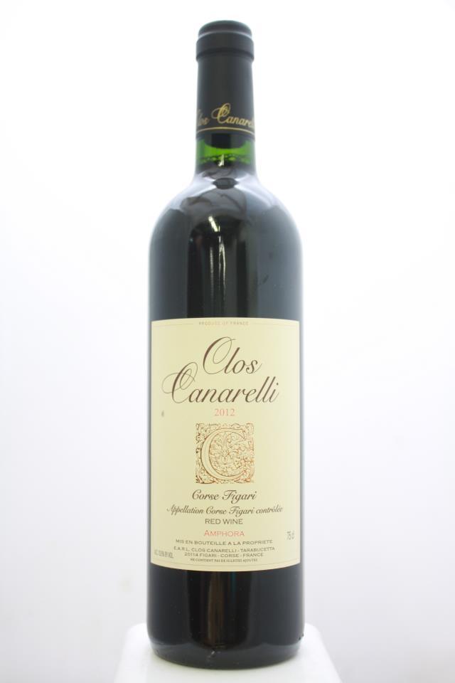 Clos Canarelli Corse Figari Amphora Rouge 2012