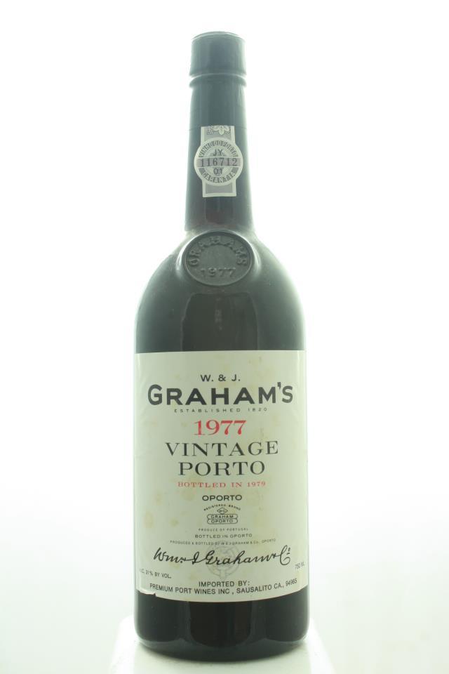 Graham's Vintage Porto 1977