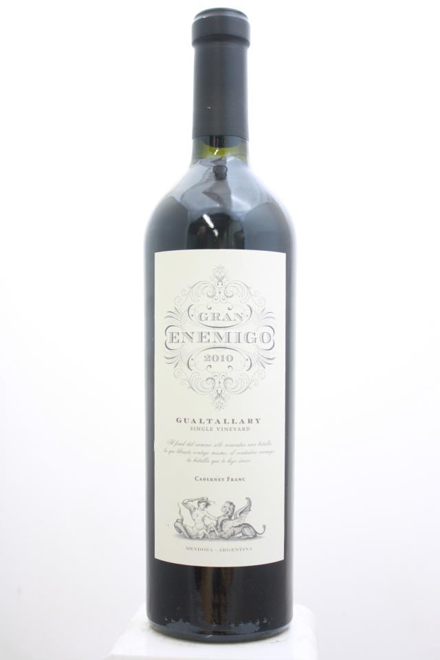 Bodega Aleanna Cabernet Franc Gualtallary Single Vineyard Gran Enemigo 2010
